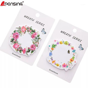 Cute Flower planner stickers notepad Memo pad N Times sticky notes papeleria office decoration School Supply material escolar1