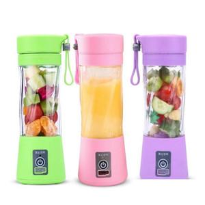 personal blender with travel cup usb portable electric juicer blender rechargeable juicer bottle fruit vegetable tools 3377 KgmWH