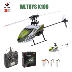 Original Wltoys XK K100 RC Drone 2.4G 6CH 3D 6G Mode Brushless Motor Remote Control RC Helicopter Quadcopter For Kids Gift Toys
