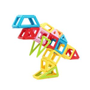 STEM alta qualidade criativa DIY Magnetic prédio de tijolos conjunto claro Blocos educacionais Magnet Toys
