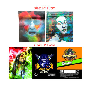 Gorilla الغراء 3.5g البلاستيك حزمة حقيبة رائحة برهان كاليفورنيا سستة ماي لوار أكياس تغليف لجفف الأعشاب زهرة الحرة dhl فيديكس