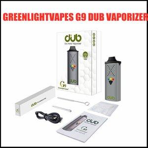 Original GreenlightVapes G9 Dub Vaporisateur pour stylo à base de plantes à base de plantes d'herbe sèche 1100mAh avec Type C USB Chargement Haptic Commentaires