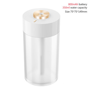 FreeShipping Wireless Air Humidifier USB Portbale Aroma Diffuser 2000mAh Battery Rechargeable Umidificador Essential Oil Humidificador