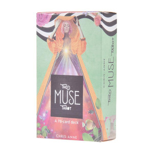 78PCS The Muse Tarot Cards Full English Version PDF Fun Board Games Oracle Deck Card Divination Fate Family Party Game Cards