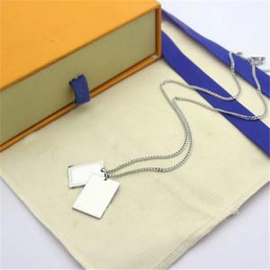 Collier pour hommes Femme Unisexe Pendentif Colliers Style de mode Bijoux Nouveau pendentif arrivé