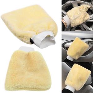 Vente en gros de 18cm * 26cm microfibre peluche de voiture de lavage de voiture de lavage de voiture détaillée de la voiture de lavage douce lave-moulette nettoyage outils DHL UPS livraison gratuite