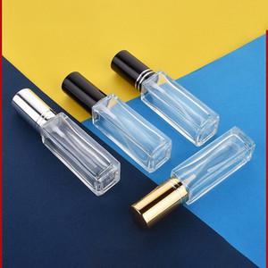 10ml verre vide Vaporisateur Petit Vider cosmétique Contenants parfum Voyage Portable Rechargeables Atomiseur fine brume Bouteilles Vials DBC BH4202