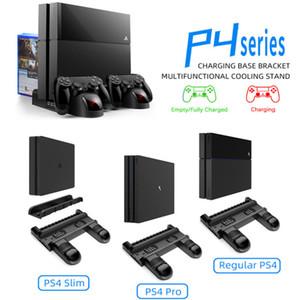 Для PS4 / PS4 SLIM / PS4 PRO Универсальный многофункциональный охлаждающий кронштейн вентилятор вентилятора