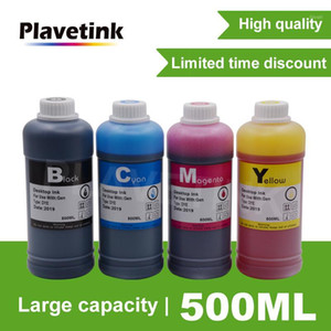Plavetink Stampante Dye Ink Refill Kit 500ml Bottle Ink per Canon per cartuccia a getto d'inchiostro Brother Ciss System1