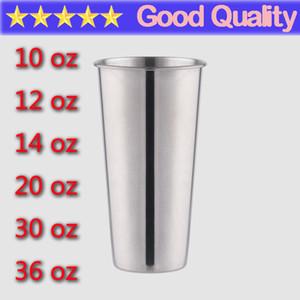 Stainless Steel Mugs 10oz 12oz 14oz 18oz 20oz 30oz 36oz 64oz 304 Vacuum Travel Cup Tumbler Wine Mug Lid Car Tumblers Cups