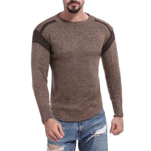 Vogue Vogue Uomo Pullover Maglione Uomo maglia Jersey a righe Maglia Uomo Abbigliamento Maglieria Sueter Hombre Camisa Masculina