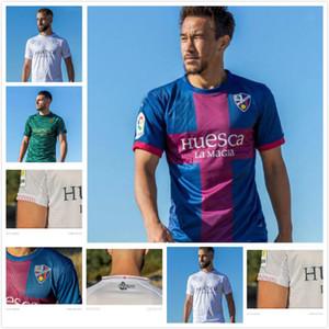 20 21 SD هويسكا لكرة القدم بالقميص المنزل بعيدا 2021 2020 camiseta دي فوتبول اينسوا # 10 كريستو أوكازاكي سيرجيو غوميز القمصان RABA كرة القدم XXL