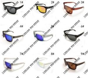 2018 새로운 패션 편광 선글라스 남자 브랜드 야외 스포츠 아이웨어 여성 Googles 태양 안경 UV400 멀티 프레임 사이클링 Sunglasse 9102