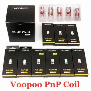 Original Voopoo PnP Coil Head VM1 VM3 VM4 VM5 VM6 TM1 M2 Mesh R1 R2 Vape Core for Vinci R X Drag S Argus RX Air Vapor 100% Authentic