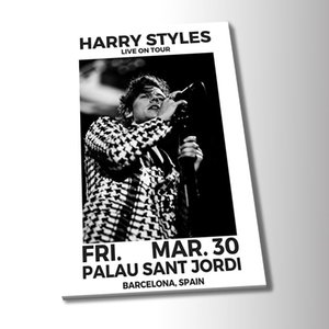 Black and White Harry Styles Poster Canvas Painting Abstract Art Poster Print Oil Painting Bedroom Hotel Wall Art Painting Pictures