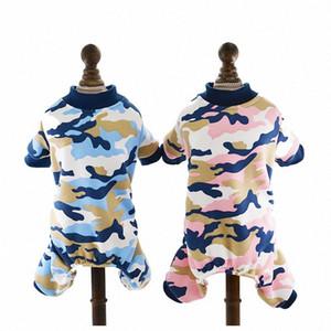 Sydzsw Camo Parted Dog Pajamas PJS Мягкая флисовая одежда для домашних животных для маленькой собаки Cat Щенок комбинезон комбинезон костюма собачкой одежды XS-XL 06L1 #