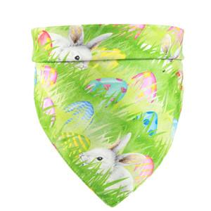عيد الفصح الكلب bandanas البيض الأرنب pet necledchief الحيوانات الأليفة عطلة مثلث وشاح للكلاب القطط ديكورات 5 أنماط HHA3533