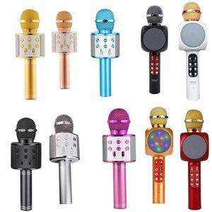 Tragbare nationale Karaoke-Mikrofon Handy Karaoke Wireless-Kondensator-Mikrofon Audio-Maschine