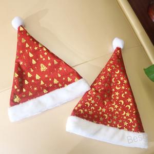 Child Christmas Tree Hat Xmas Cap Adult Santa Claus Hats Plush Christmas Cap Xmas Hat Party Cosplay Christmas Gift Decoration BH4211 WXM