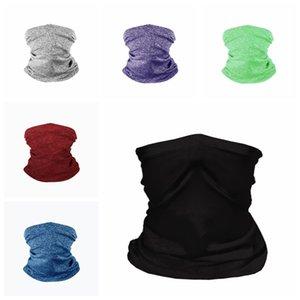 Écharpe Cyclisme Masques de protection Masque sans soudure multifonctions extérieur Tête Scarve Foulard magique Masques Filtre Designer BWB2889