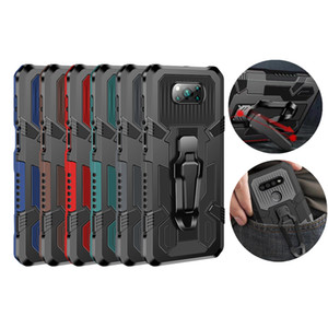 for Samsung Note 20 Plus S20 Ultra A51 A31 A71 4g 5gA01 Core New Clip & Kickstand Mobile Phone Cover Shockproof Armor Case