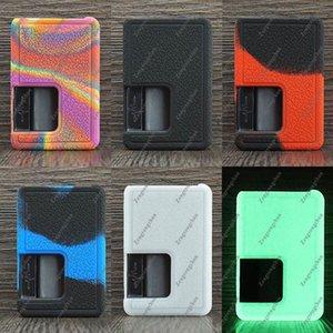 Cubiertas diseñadores Vandy Vape pulso X funda de silicona Funda de silicona de la piel cubierta de goma Funda protectora para vandyvape 90W Caja Mod DHL