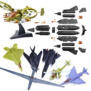 F 35 No Repeat For Fighter Assemble Military Random Toys Blocks Children Model Educational Mini 5Pcs Building Kits Aircraft Toy YgVBw