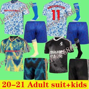 Adulti scherza il vestito 20 21 Cavani Manchester United UTD WILLIAMS HUMANRACE Real Madrid pullover di calcio speciale 2020 T-shirt bambini maglia di calcio