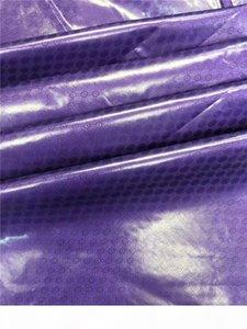 Purple brocade fabric for men high quality cotton bazin riche getzner 2019 nouveau wholesale bazin riche fabric 5yards lot