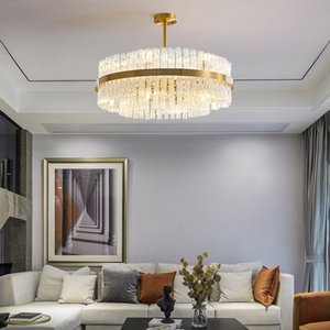 Luxury ceiling chandeliers living room crystal chandelier bedroom copper chandelier lighting kitchen fixtures led copper lustres