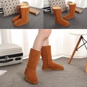 HOT chaussures de femme australienne style Ug unisexe neige Bottes d'hiver en cuir imperméable à long Bottes UG Marque 5815