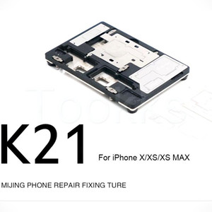 MJ K21 Main Board Middle Fixture For X XS XSMAX JIP Solder Paste For Mobile Phone Maintenance PCB Motherboard Holder