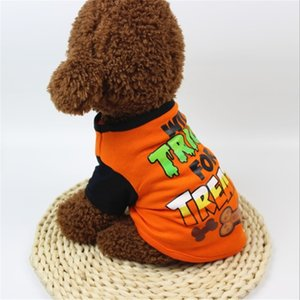 Clothes Spring and Autumn T-shirt Halloween Style Dress Up Your Baby Handsome Dog Drop Shipping Y200922