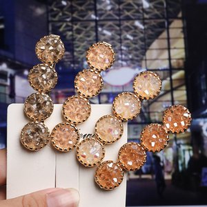 Ins fashion crystal girls hair clips boutique designer hair clips women princess designer hair accessories for women clips