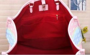 Top Designer Handbag Totes con il sacchetto di spalla del sacchetto di estate delle donne Escale Tote Unicorn borsa pastello Moda