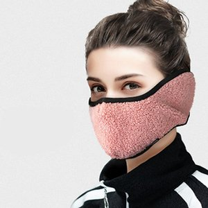Winter-warmes Gesicht Earmuffs Schutz Ohrenschützer für Frauen Warm-Maske Zwei-in-one Earmuffs Gesicht Ohr Abdeckung Winters Party Masken Sea Shipping IIA760