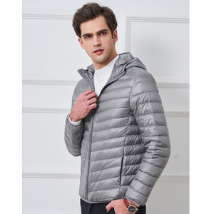 Mens Winter Coats 2020 Autumn Fashion New Mens Jacket Thick Warm Hooded Windbreaker Casual Men Padded Jacket 7 Styles Size M-3XL