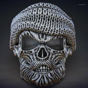 Anillo de metal Accesorios para hombres de alta calidad Personalidad Retro Artesanía Moda con un sombrero Tío Styling Ring Gifts 20201