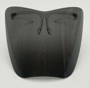 Clear Glass Face Shield Face Face Masarilla protectora de plástico Colorido Anti-FOG Anti-Fog Splash Splash Safty Funda Faceshield GGA3799-4