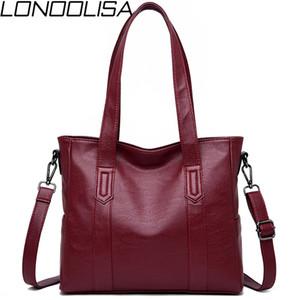 Lonoolisa New Woman Bag 2019 Bolsos de lujo de cuero bolsas de mujer bolsas de diseñador Bolsas de Crossbody para mujeres Tote Bolsa Feminina SAC A PRINCIPAL C0121