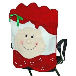 Christmas Chair Cover Man Design Design Chinner Sedia Sedia Indietro Copre Buon Natale Sedie da sposa Cap GWC2917