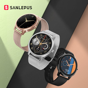 2020 New Sanlepus Smart Watch Fashion Femmes Smartwatch Hommes Casual Hommes Sport Fitness Bracelet Band pour Android Apple Xiaomi Honor