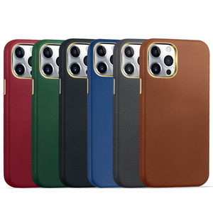 Genuine Real Leather Luxury Shockproof Case Cover For iPhone 12 Pro Max 11 XR X 8 7