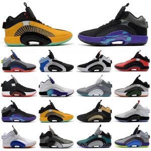 2021 New Mens Shoes 35S Jumpman Basket Basketball Shoes 35 xxxv Sapatilhas Esportes Centro de Gravidade DNA Morpho Sisterha 34 34s Sapatos Esportivos