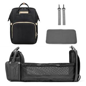 Değişen pad + Stroller kayışları C 1008 ile anne Yüksek Kapasiteli Nappy Bag için bebek bezi çantası Seyahat çantası Bebek Çantaları