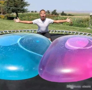 Amazing Bubble Ball Funny Toy Water-filled TPR Balloon For Adult Kids Outdoor Bubble Ball Inflatable Toys Party Decorations
