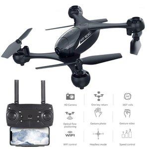KF600 RC Дрон с HD FPV Wi-Fi двойной камеры Высота удержания Quadcopter Оптический поток Жест фото Dron VS XS809HW E58 E511 XS809HW1