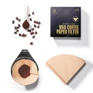 Nuove legno Filtro mano V60 Drip Paper Coffee caffè setaccio Borsa Espresso Infuser Brew accessori da cucina