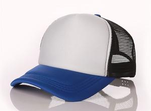 2021 good quality summer hats adjustable mesh baseball caps men fashion hat summer trucker casquette women leather ball cap free shipping