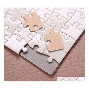 A4 Sublimation Blank Puzzle 120pcs Diy Craft Heat Press Transfer Crafts Jigsaw Puzz sqcChE five2010